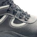 Chaussures de sécurité industrielle en cuir Split avec embout acier