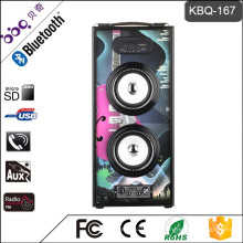 2017 neue Art Tragbare Alibaba Bluetooth FM Radio USB SD Kartenleser Lautsprecher