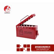 Wenzhou BAODSAFE BDS-X8601Carbon Stahl Gruppe Lockout Kit Sicherheit Vorhängeschloss-Box