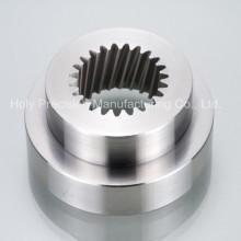 CNC Drehmaschine Bearbeitungsteil für hochpolierte Aluminiumteile