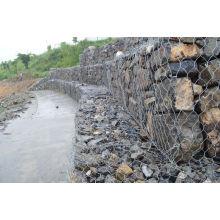 Galvanized River Bank Protect Gabion Basket / Gabion Box / Reno Matelas