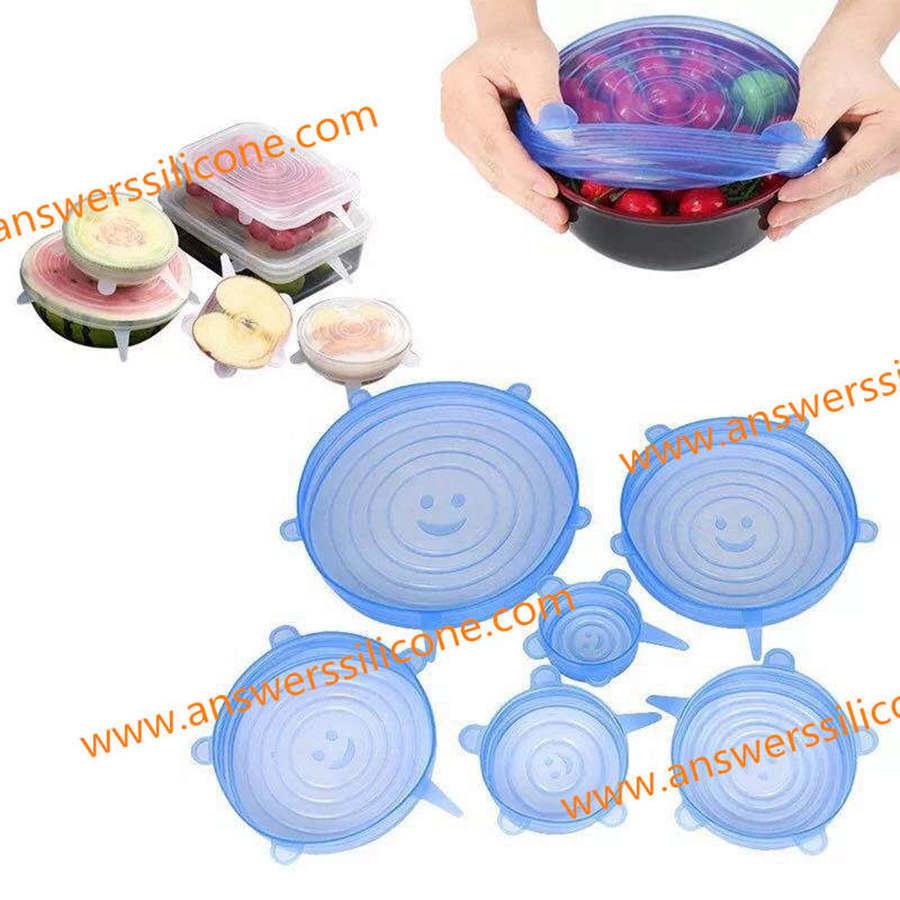 silicone bowl lids