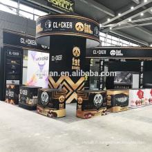 L'offre de Detian vape e cigrette Conception et construction de stand de Vape Expo China Show