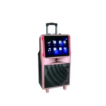 Tragbarer Karaoke-Lautsprecher mit Bildschirm
