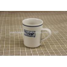 Porcelana personalizada do impressão do logotipo canecas