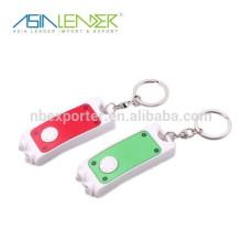 Mini luz del keychain con la pluma útil de la manera LED
