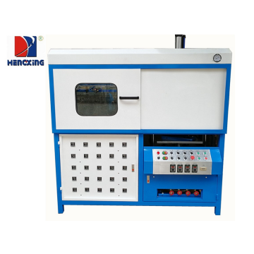 Semi-automatic plastic thermoforming blister making machine