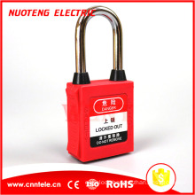 38mm abs loto OEM safety padlock safety lockout locks