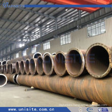 spiral steel pipe with or without flanges