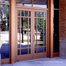 European style house used soundproof tempered glazed external doors