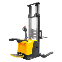 Xilin 1000kg 1ton electric pallet stacker with straddle legs