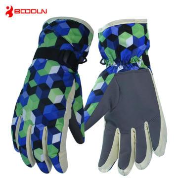 Heated Gloves Battery Powered Ski Waterproof Winter Ski Gloves (BD15005)