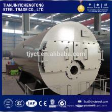 Horizontal 1ton heavy oil / light oil fired steam boiler