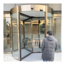 OEM Factory commercial glass sensor automatic revolving door made in China