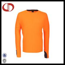Langarm Breathable Polyester Laufshirts für Männer
