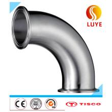 Aço inoxidável 2b / preto / Ba acabamento cotovelo de 90 graus