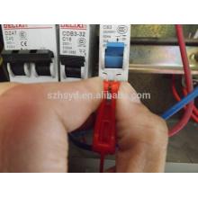 Блокировка миниатюрных выключателей