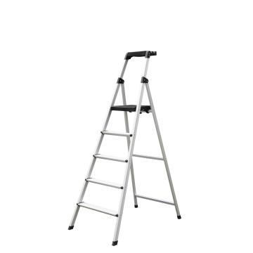 black tool tray step ladder