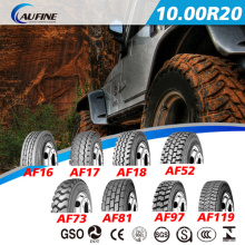 Heavy-Duty TBR Reifen Schlauch LKW-Reifen (Laufwerk Muster für 1000R20 1100R20 1200R20 13R22.5)