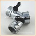 Garden hose shut off valve