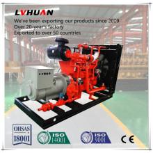 CE Aprobado 50 Hz / 60 Hz 380 V CUMMINS 300 Kw Generador de Gas Natural