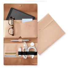 Fashionable Leather Laptop Bag Briefcase Envelope Clutch Handbag for Travelling