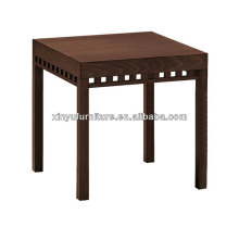 High square restaurant dining table for bar interior XT7001