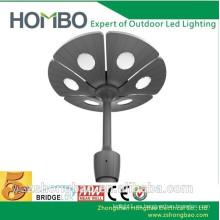 2014 diseño moderno 60W 90W LED luz de jardín con el conductor meanwell / lámpara led
