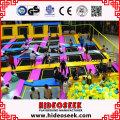 Kundengebundene sehr große gymnastische Trampoline-Park-Ausrüstung