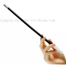 Custom Black Classical Plastic Smoking Pipe for Cosplay Prop