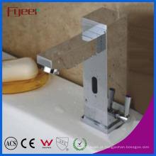 Faucet automático da bacia do sensor de movimento da água quente fria de Fyee