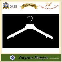 Chine Fournisseur de suspension en plastique blanc pour la robe avec épaulettes