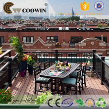 Outdoor Rubber Stairs Portable Composite Decking