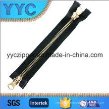Grand sac à bandoulière en métal à deux voies Zipper