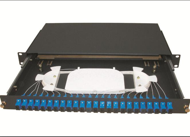 24 Port Slidable Odf With Sc Adapter