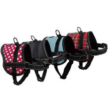 OEM England Style Dog Pet Clothes Vest with Reflective Tape