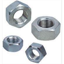 Porca hexagonal de aço inoxidável DIN934 com passivado