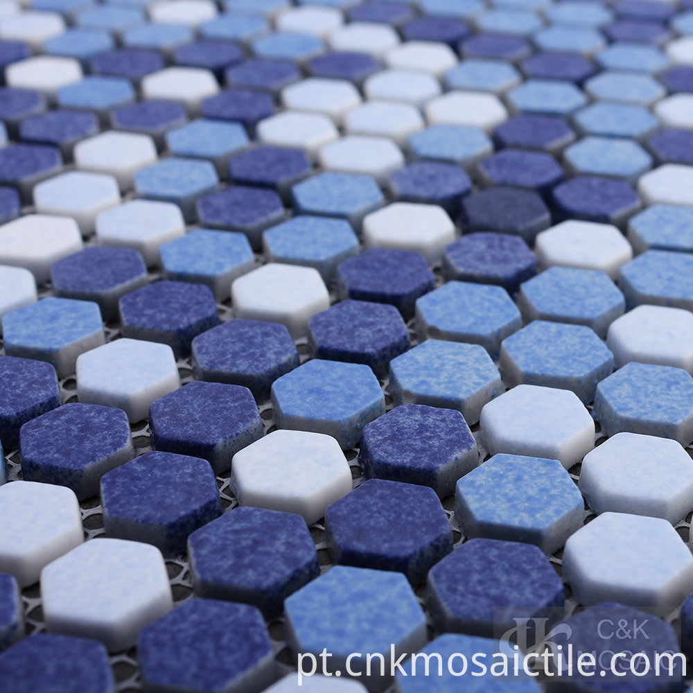 Textured Glass Mosaic Art