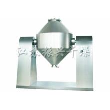 Secadora giratoria de doble cono para materiales con sensibilidad térmica