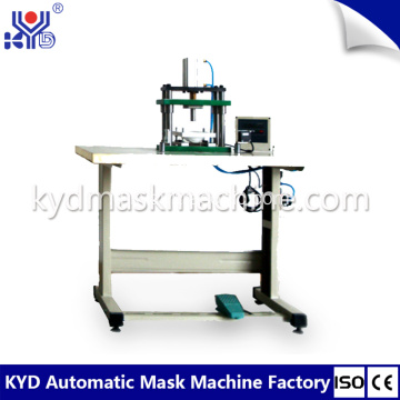 Masker Cup Semi-otomatis Breather Holes Punching Machines