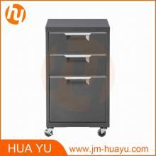 Pequeño Mobile Office Storage Metal Furniture File Cabinet Metal Furniture Equipment Caja de llenado de acero Kd Office