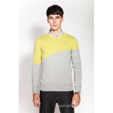 100%Cashmere Winter Knitted Men Jumper Sweater