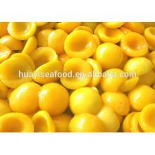 Quente vendendo bom preço delicioso congelado amarelo pêssego
