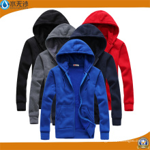 Factory Men Hoodies Election Hoodies Algodón Plain Zipper Hoodies