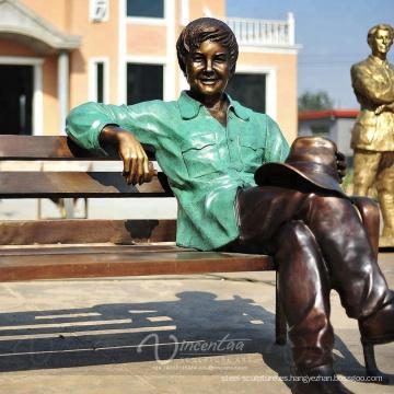 Tamaño de vida personalizado y gran escultura de bronce al aire libre (Figura, Animal ...)
