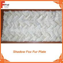 Reasonable Price Shadow Fox front leg Fox Fur Plate