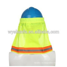 Los sombreros reflexivos de la capilla del sombrero del tamaño regulares, las tapas de las cintas de la alta visibilidad 3M