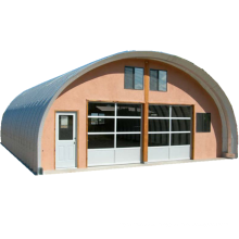 warehouse quonset hut kits and arch steel building quonset metal roof screw-joint metal roof building nut&bolt metal roof huts