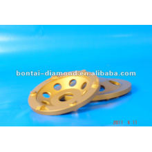 100mm PCD abrasive cup wheels for glue grinding