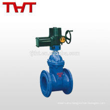 electric resilient lockable gate valve 150mm